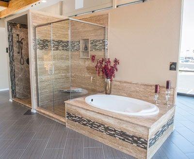 Stone Shower 4