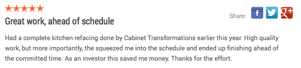 cabinet transformations review