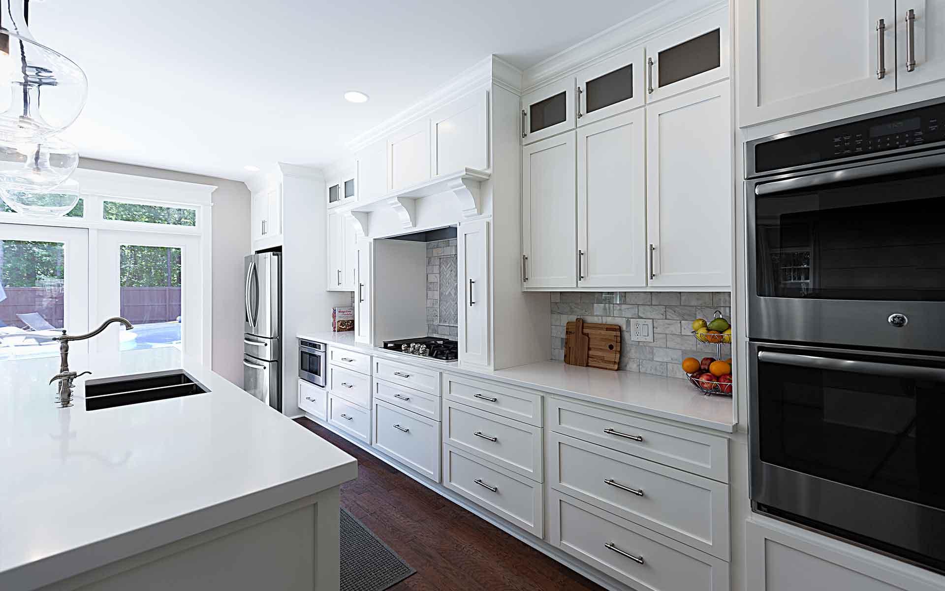 kitchen cabinet refacing & refinishing fayetteville | kitchen